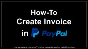 Online Invoice on Paypal