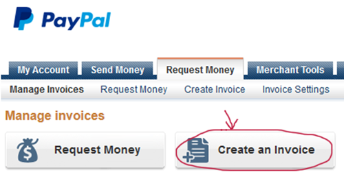 How to Create Paypal Invoice