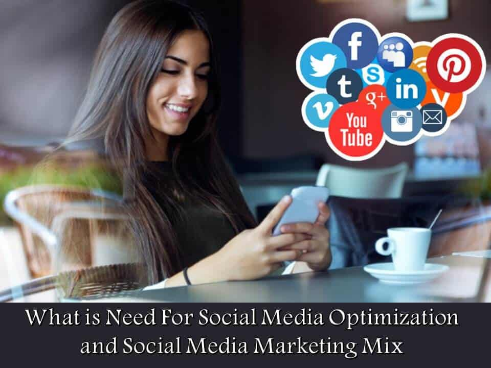 What is Need For Social Media Optimization and Social Media Marketing Mix