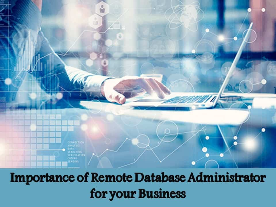 Importance of Remote Database Administrator for your Business