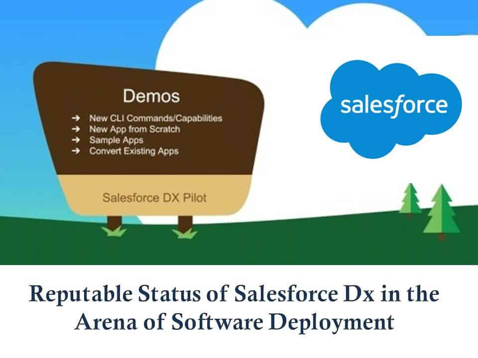 Reputable Status of Salesforce Dx in the Arena of Software Deployment