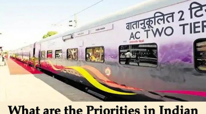 What are the Priorities in Indian Trains