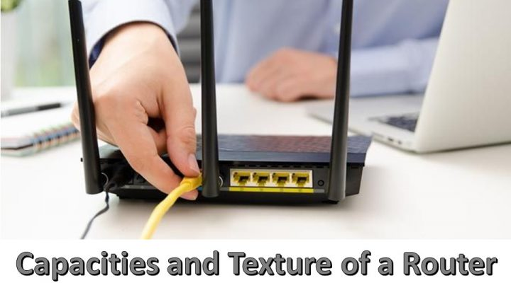 Capacities and Texture of a Router for Home Networking System