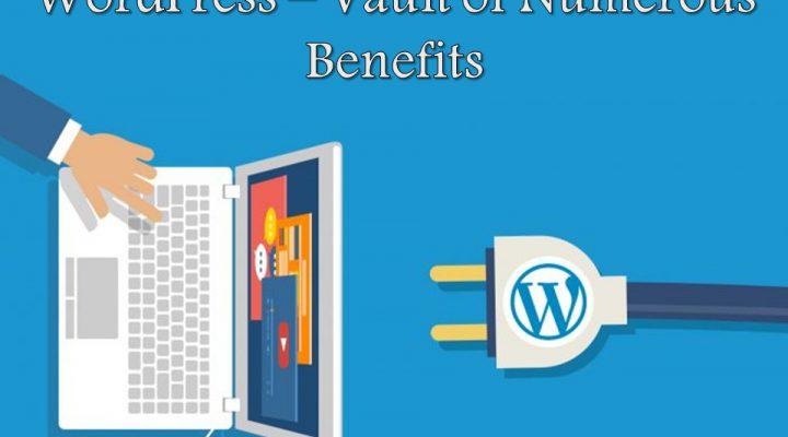 WordPress Vault of Numerous Benefits