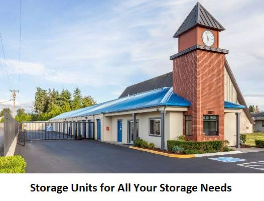 Storage Units for All Your Storage Needs