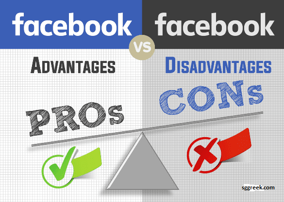 Advantages and Disadvantages of Facebook