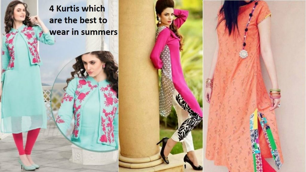 4 Kurtis which are best to wear in summers