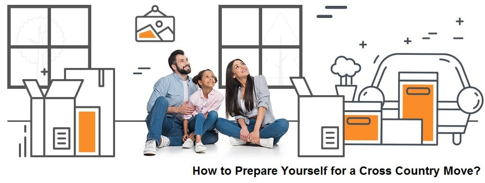 How to Prepare Yourself for a Cross Country Move