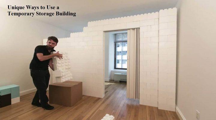 Unique Ways to Use a Temporary Storage Building