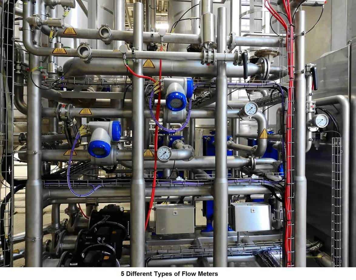 5 Different Types of Flow Meters