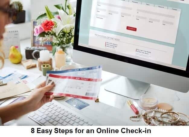 8 Easy Steps for an Online Check-in
