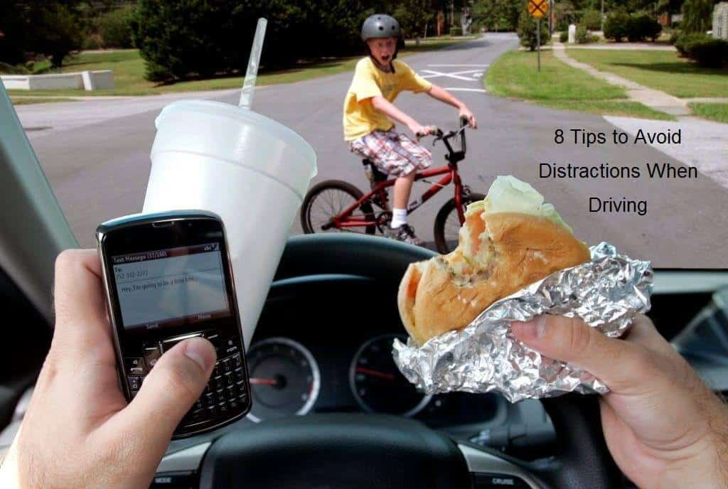 8 Tips to Avoid Distractions When Driving
