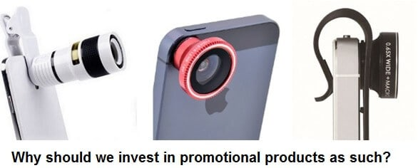 Why should we invest in promotional products as such