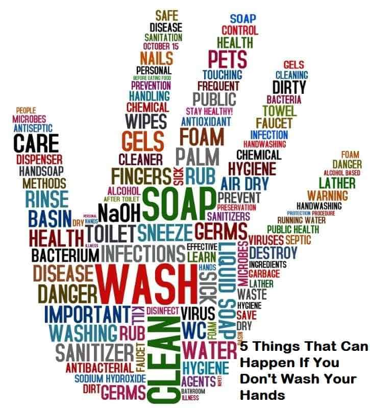 5 Things That Can Happen If You Don't Wash Your Hands