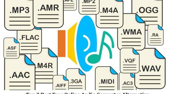Top 3 Best Free Online Audio Converter Alternative