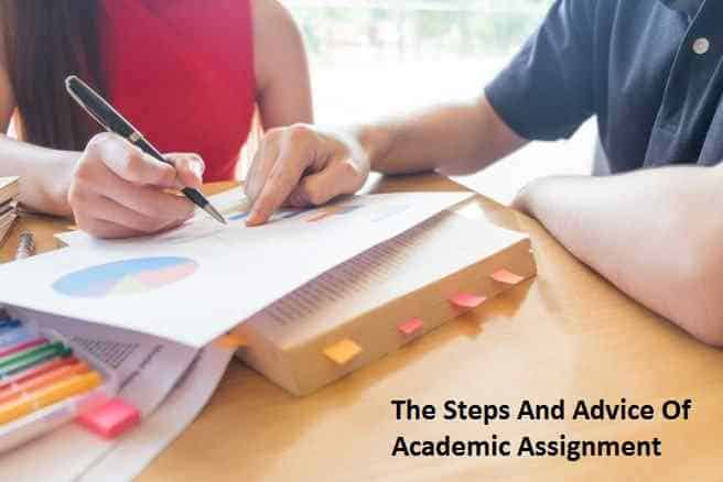 Advice Of Academic Assignment Writing