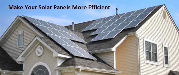 Solar Panels More Efficient