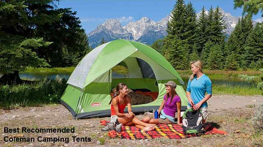 Best Recommended Coleman Camping Tents