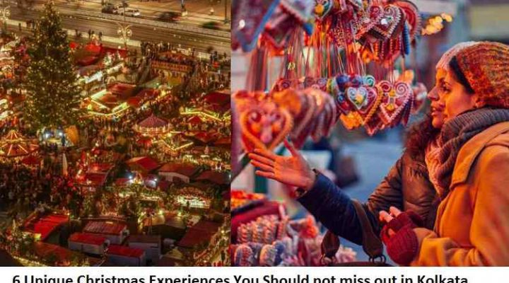 6 Unique Christmas Experiences You Should not miss out in Kolkata