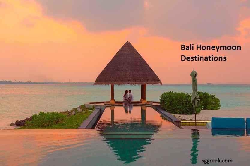 Bali Honeymoon Destinations