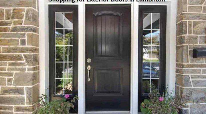 Shopping for Exterior Doors in Edmonton