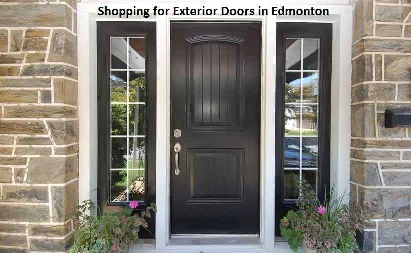 Shopping for Exterior Doors in Edmonton