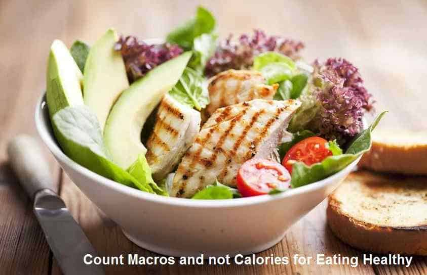 Count Macros and not Calories for Eating Healthy