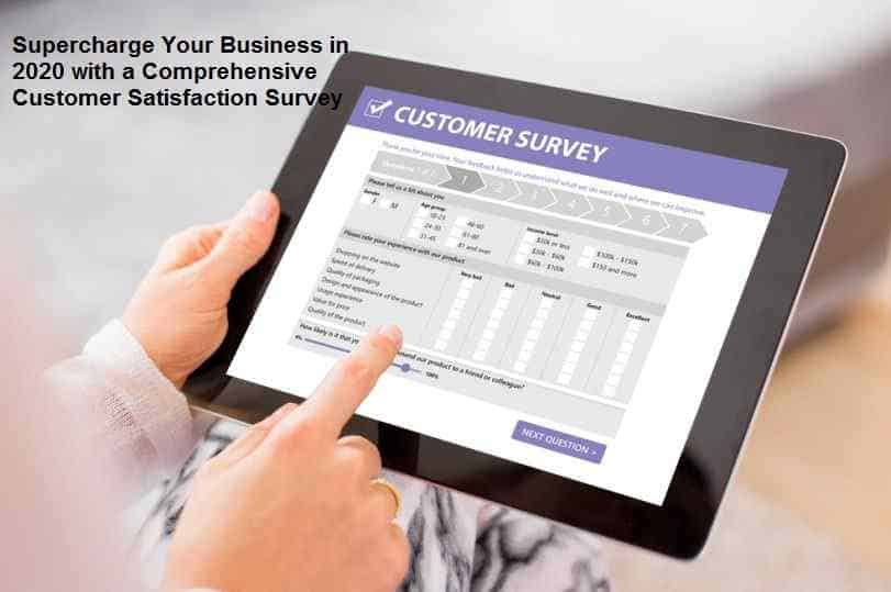 Comprehensive Customer Satisfaction Survey
