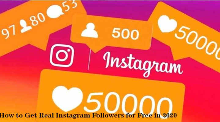 Real Instagram Followers for Free in 2020