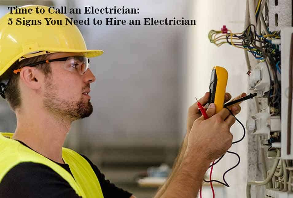 Hire an Electrician