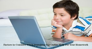 Online Help For Your Homework