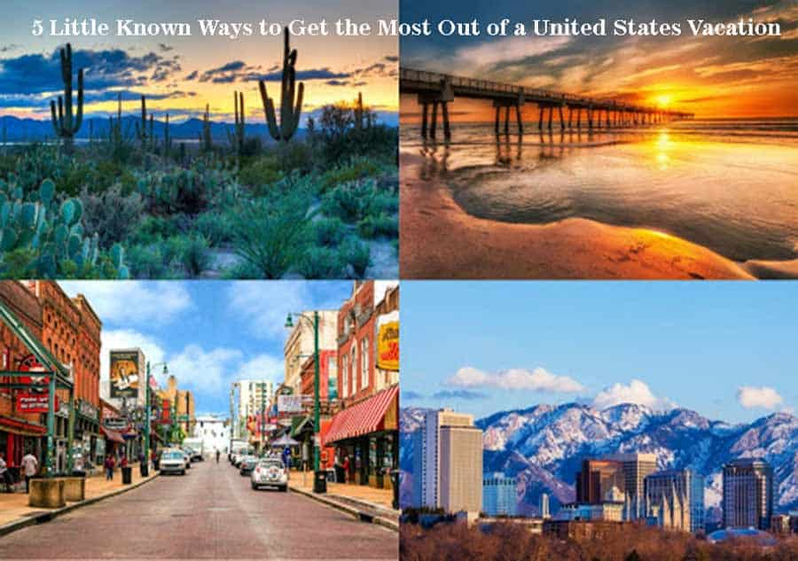 USA Best Vacation Places