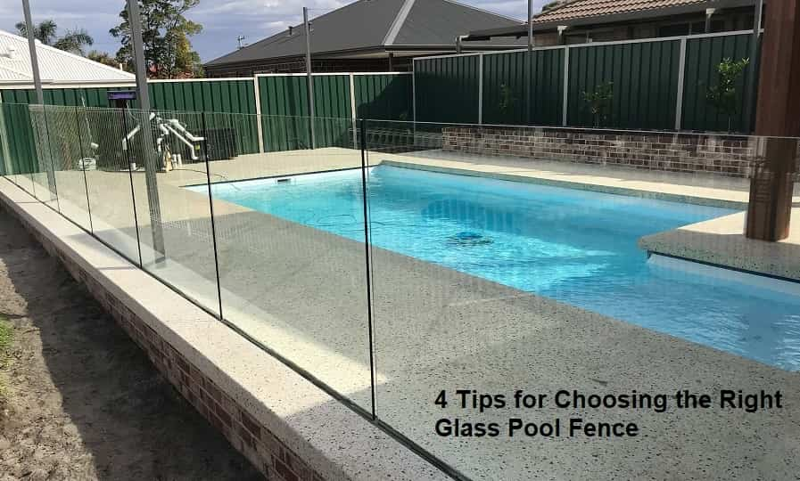 Choosing the Right Glass Pool Fence