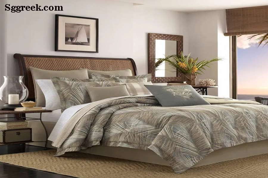 Designer bedding look