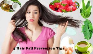 Hair Fall Prevention Tips