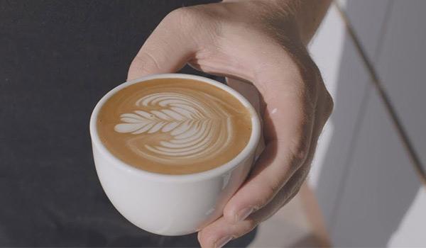Latte Art Flourish