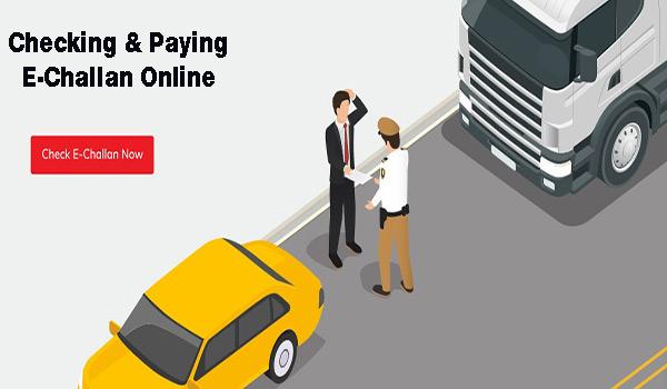 Checking & Paying E Challan Online